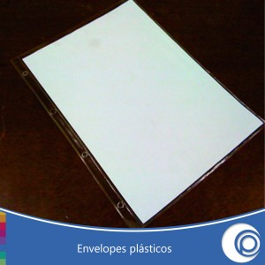 T- envelopes plásticos - emplate